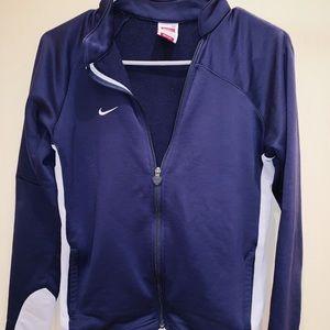 Navy Nike Zip Up Jacket